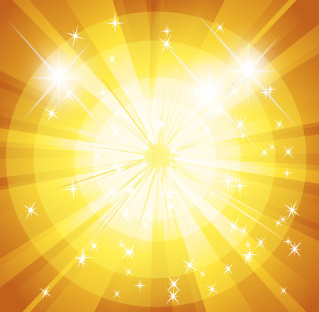 spot lit: Star burst and sunbeam background