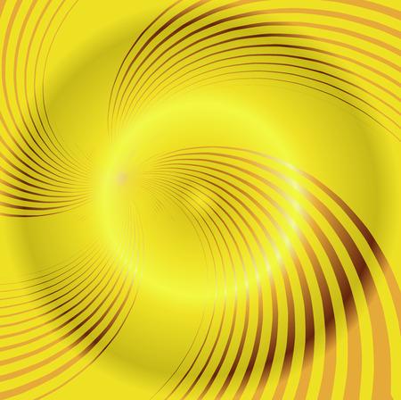 Yellow spiral background photo