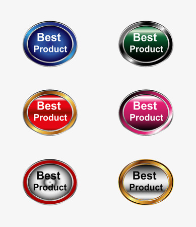 product icon: Best product icon vector set