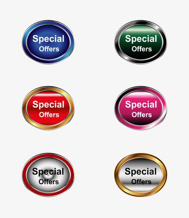 offerta speciale: Pulsante Offerta speciale