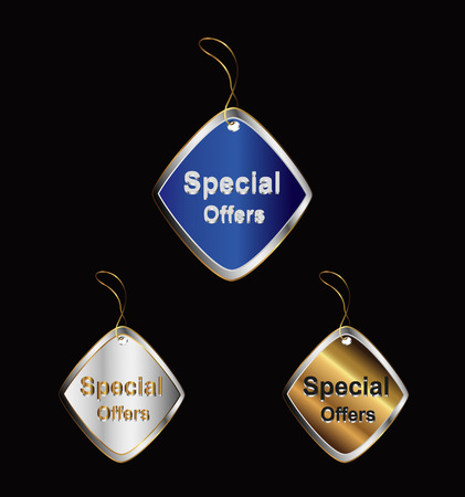 Special Offer Tag vector Vector