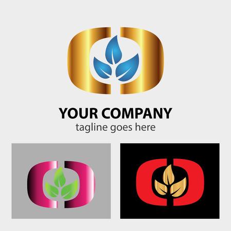 three leaf: Three leaf logo