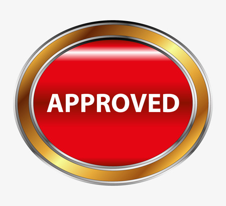 approved sign: Approved sign button