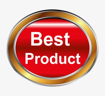 picks: Best Product button Illustration