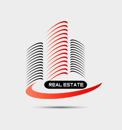 Building logo vector Ilustrace