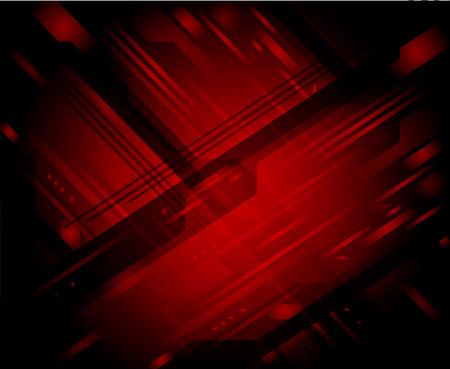 rojo oscuro: Rojo oscuro fondo abstracto del vector