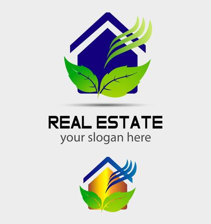 Ecology Green house Vector