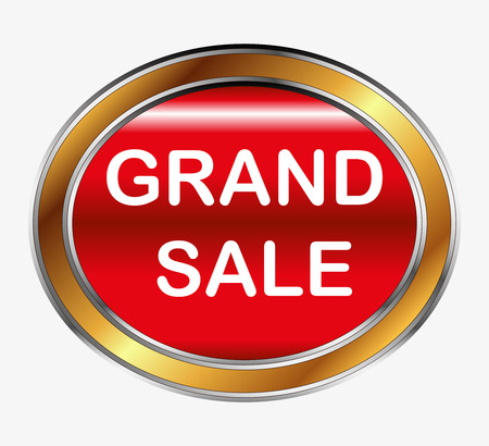 grand sale button: Grand sale button