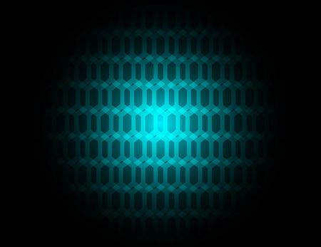 Hexagon background Vector
