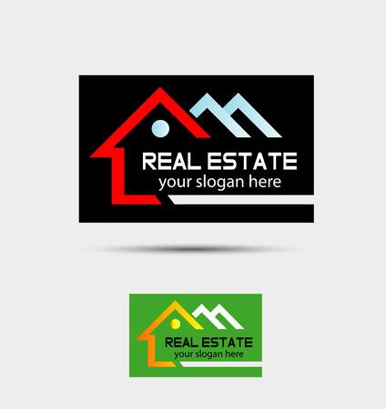 houses: Real estate logo