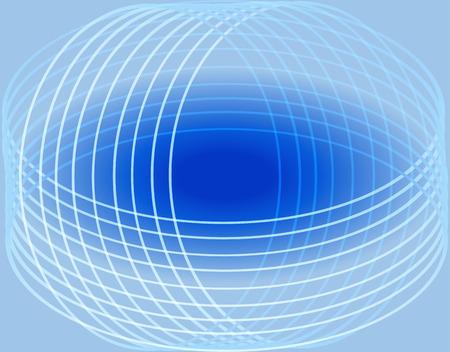 curve line: Blue curve line background