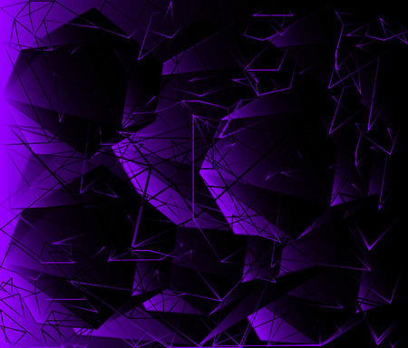 Polygonal design - Abstract geometrical background photo