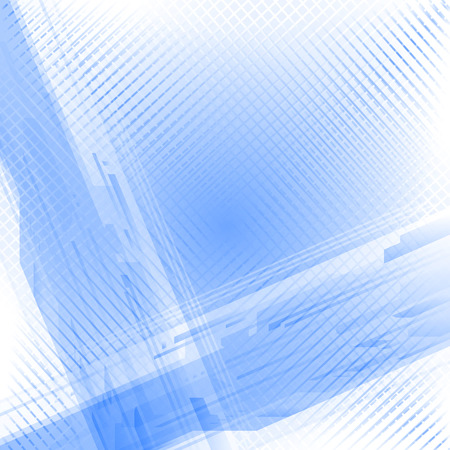 2d wallpaper: bstract technical blue white background Stock Photo