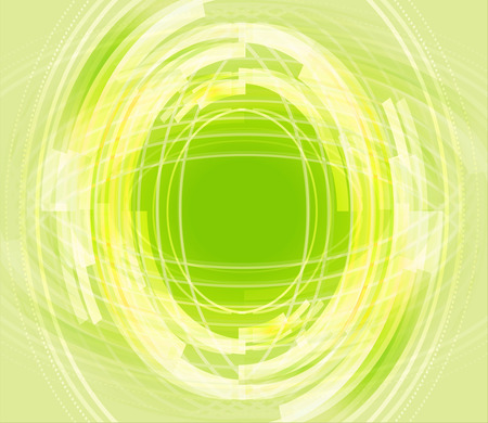 Digital futuristic green background photo