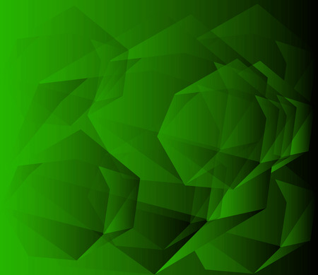 Geometric green Background photo
