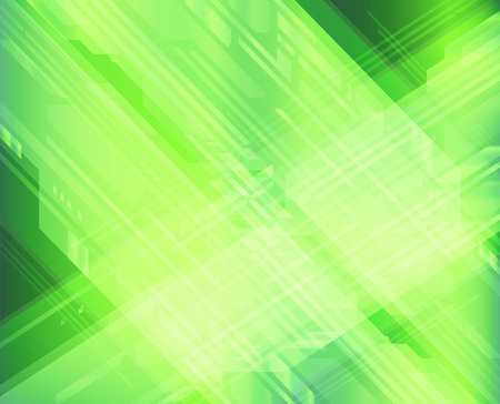 two dimensional shape: Green background digital style