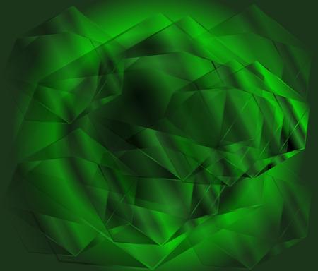 diamond background: Green diamond background Stock Photo