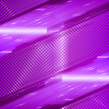 Purple abstract tech grid background photo