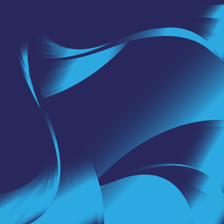 Abstract wavy blue backgrounds