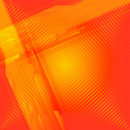 grid background: Abstract grid orange background Stock Photo