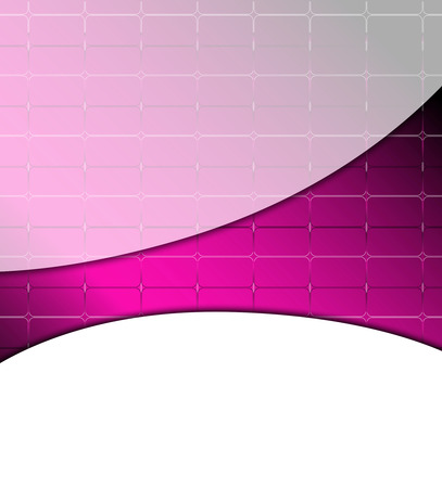 Abstract white pink background with place for text