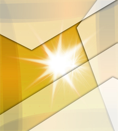 Yellow Background With Beams photo