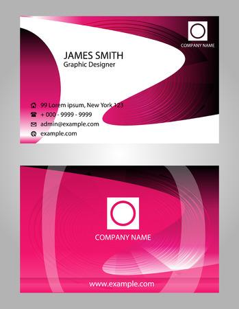 Beauty business card Vector