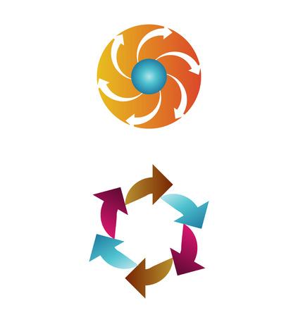 compromise: Icono lazo creativo y colorido para inspirar