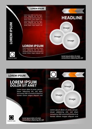 catalog: Professionele zakelijke catalogus sjabloon of corporate brochure ontwerp Stock Illustratie