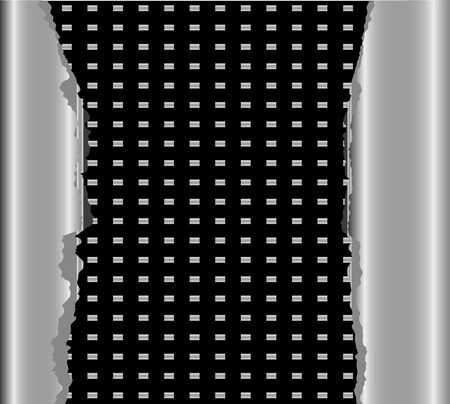 meta: Black meta background