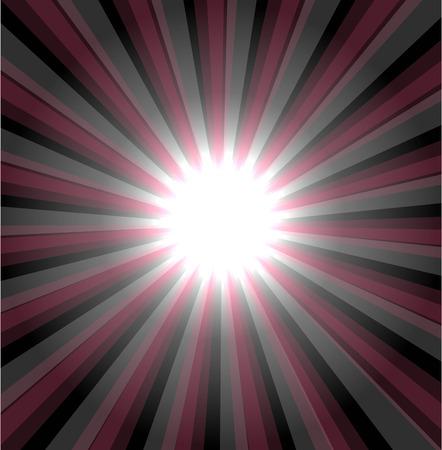 emanation: Star burst background