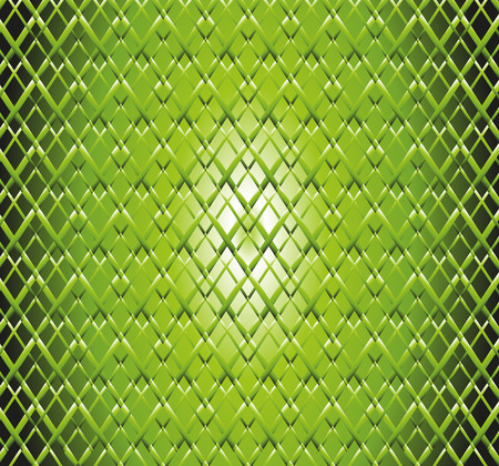 Abstract green grid background photo
