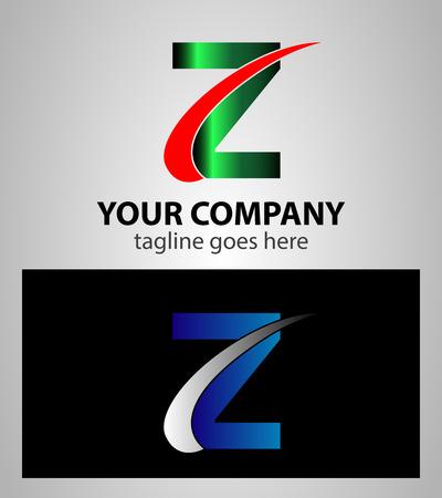 buchstabe z: Buchstabe Z-Logo-Symbol Design-Vorlage Elemente Illustration