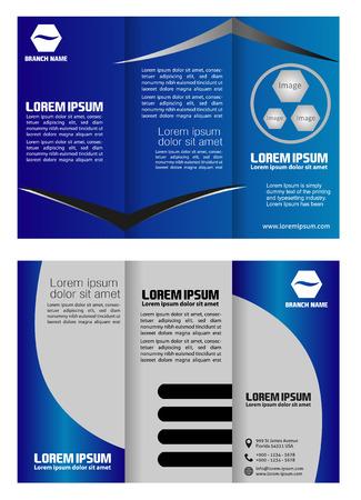 mock up: Tri-Fold Mock up Brochure Design