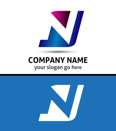 Lettera N logo simbolo Archivio Fotografico - 36268618