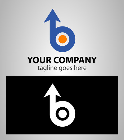 Letter B icon design template elements. Vector sign