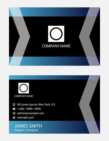 tectonic: Creative business card Illustration