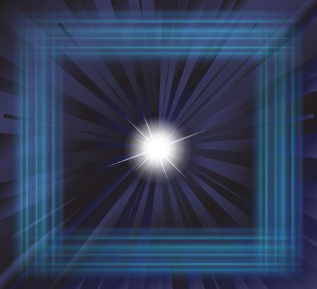 spot lit: Star burst background