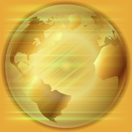 golden globe: Golden Globe background  template Stock Photo