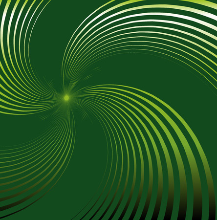 green swirl: Abstract green background with swirl