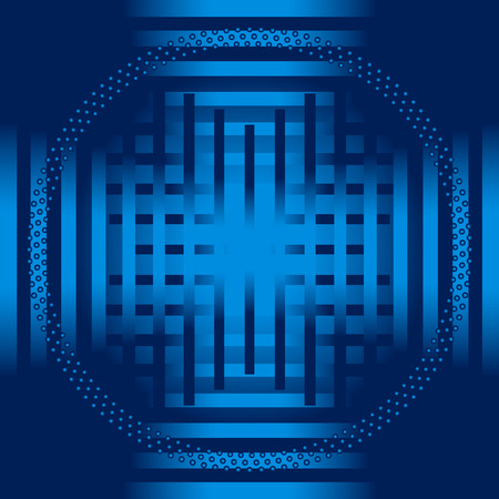blue stripe: Blue stripe circle Background template