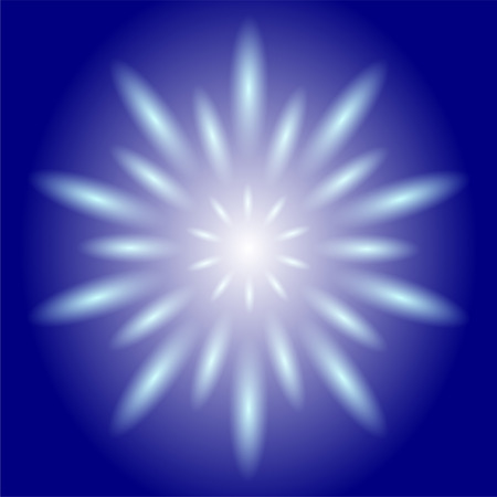 strobe light: Circle ray circular light  blue Background Stock Photo