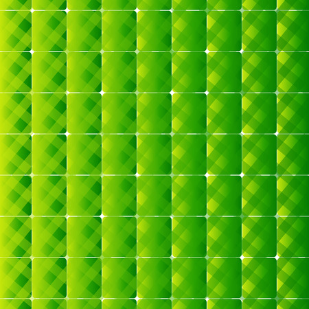 swagger: Retro style square and stripes green background
