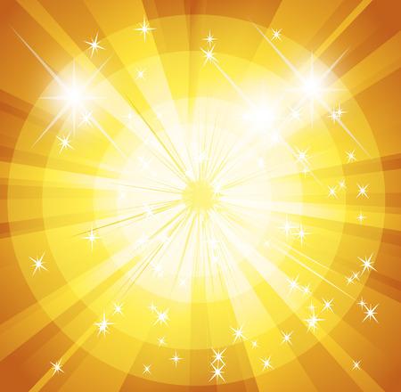 spot lit: Star burst and sunbeam background