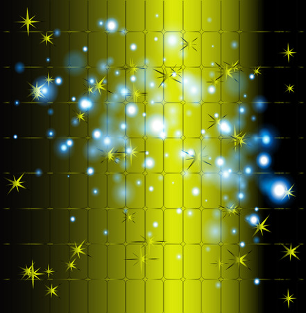 explosion engine: Green star background abstract