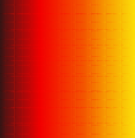Grid orange background