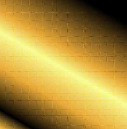 Grid line golden background photo