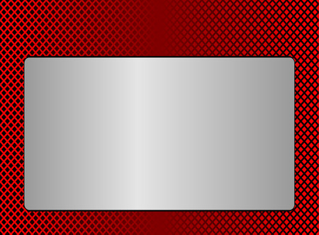 red metal: Red Metal plate background Illustration