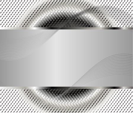 setter: Gray background template Illustration