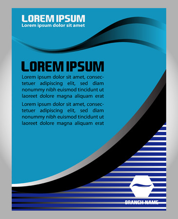 poster template: Vector Flyer Poster Template